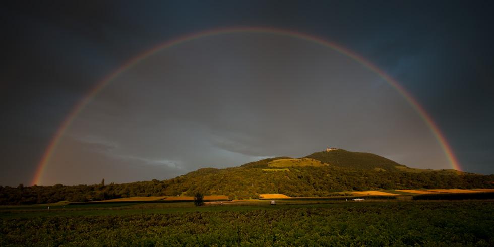 Regenbogen an der Teck