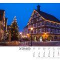 Weihnachtliches Rathaus in Neuffen