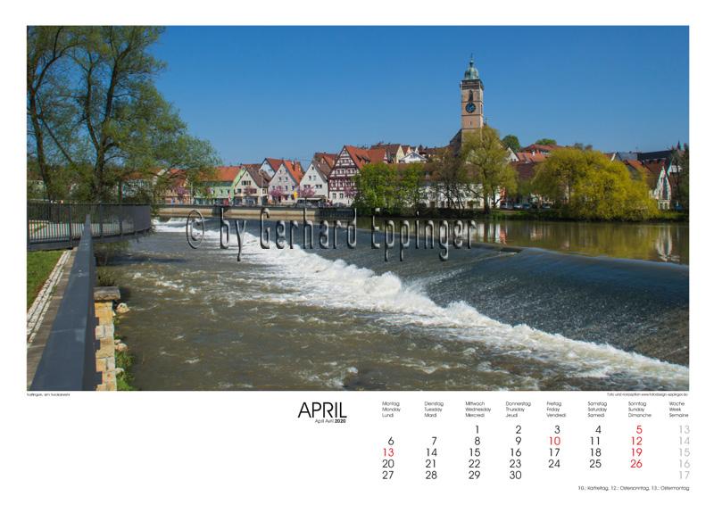 Nürtingen, Neckarzeile