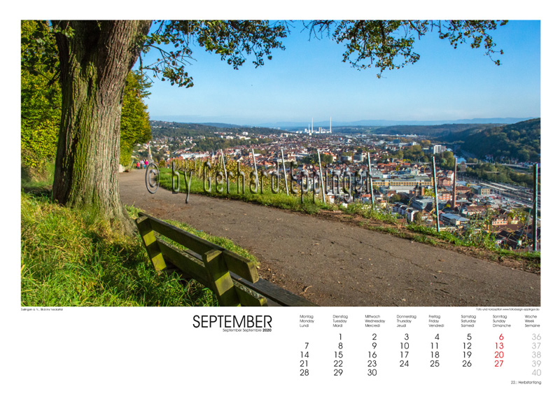 Blick auf Esslingen a.N.